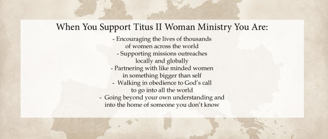 support Tii Ministry